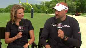 Chicago Bears head coach Matt Nagy on kicking competition: 'Trying to create pressure for our kickers' at practice [Video]