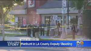 $100K Reward Offered In Shooting Of LASD Deputy At Jack In The Box In Alhambra [Video]