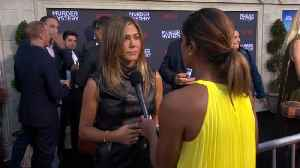 News video: 'Murder Mystery' Red Carpet With Adam Sandler, Jennifer Aniston