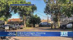 Police: Woman Found Shot In Modesto Alley [Video]