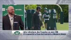 New York Jets general manager Joe Douglas describes his relationship with head coach Adam Gase [Video]