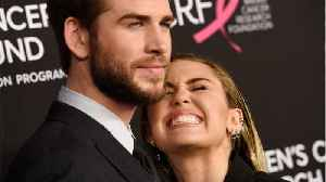 News video: Miley Cyrus Celebrates 10 Year Anniversary With Liam Hemsworth