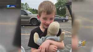 Illinois Woman Gives Childhood Gift From Her Dad To Schaumburg Boy Who Lost His Beloved Stuff Animal [Video]