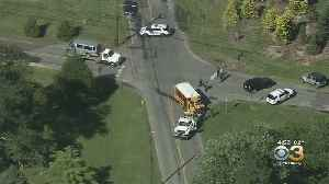 Multiple Injuries Reported In Accident Involving School Bus In South Jersey: Police [Video]