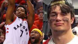 Random Dude Gets TRASHED After Being Mistaken For Kyle Lowry! [Video]