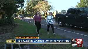 School leaders think Florida's hazardous walking statue needs to be updated to keep kids safe [Video]