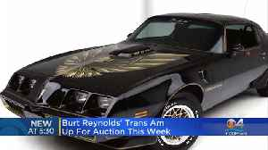 Burt Reynolds' Trans Am Up For Auction [Video]