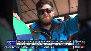 Murder trial of bartender gunned down in Canton brings new pain for his family [Video]
