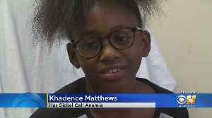 Child Living With Sickle Cell Anemia Shares Encouraging Message [Video]