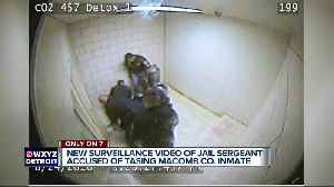 More disturbing video show another tasering inside the Macomb County Jail by sergeant facing charges [Video]