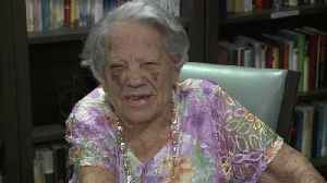 Woman Shares Her Secret to Long Life at Her 101st Birthday Party [Video]