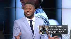 NFL Network's Michael Robinson: Oakland head coach Jon Gruden's Raiders are 'made for (HBO's) Hard Knocks' [Video]