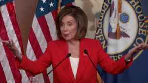 News video: House Speaker Pelosi on President Trump: 'I'm Done with Him'
