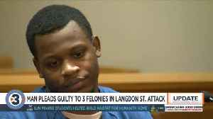 Man accused of violently attacking woman on Langdon Street pleads guilty [Video]