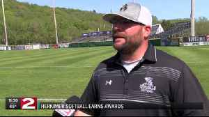 Herkimer softball Anadio Co-Coach of the Year, Puppolo Player of the Year [Video]