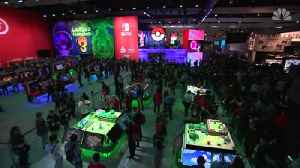 Nintendo Rolls Out New Games [Video]