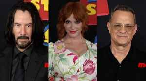'Toy Story 4' World Premiere Red Carpet Arrivals Keanu Reeves, Christina Hendricks, Tom Hanks [Video]