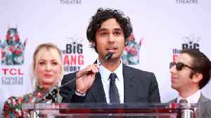 Kunal Nayyar taking social media break after 'The Big Bang Theory' finale [Video]