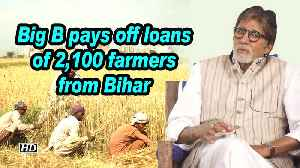 Big B pays off loans of 2,100 farmers from Bihar [Video]
