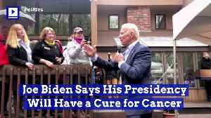 Joe Biden Says His Presidency Will Have a Cure for Cancer [Video]