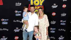 Jimmy Kimmel and Molly McNearney 'Toy Story 4' World Premiere Red Carpet [Video]