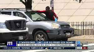 "Commissioner on squeegee kids: ""If people stop giving them money, the problem will go away."" [Video]"