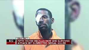 Survivor of suspected serial killer talks about attack, how she made it out of vacant house alive [Video]