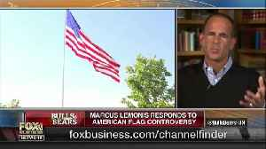Marcus Lemonis responds to American flag controversy [Video]