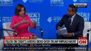 Pelosi says Dems are 'not even close' on impeachment [Video]
