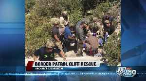 Border Patrol agents rescue 70-year-old man who fell off cliff [Video]