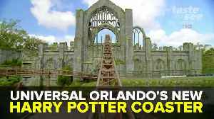New Harry Potter roller coaster opens at Universal Studios Orlando | Taste and See Tampa Bay [Video]