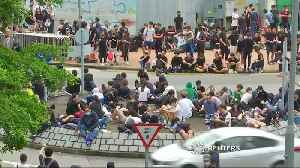 News video: Hong Kong's financial hub paralyzed by protests