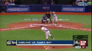 Mike Fiers pitches six effective innings helping Oakland beat Tampa Bay [Video]