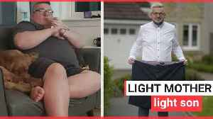 A man loses whopping 11-and-a-half stone [Video]