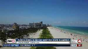 Study: Florida the No. 2 'Most Fun State in America' [Video]