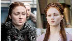 Sophie Turner Didn't Tell Her Parents She Auditioned For 'Game Of Thrones' [Video]