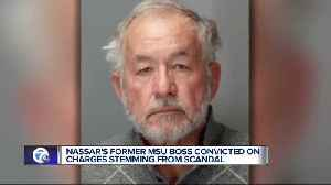 Ex-MSU dean found guilty of misconduct in office, willful neglect of duty [Video]