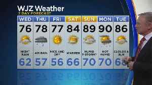 Bob Turk Has A Look At Your Tuesday Night Forecast [Video]