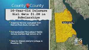 16-Year-Old Delaware Girl Gets $1.2 Million In Scholarships [Video]