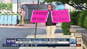 Protestors calling for resignations of bishops following sexual abuse allegations [Video]