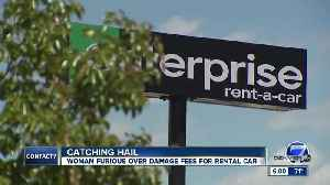 Littleton woman says she got billed for hail damage to rental car... when it never hailed [Video]