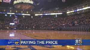 Ticket Prices Through The Roof Final Game At Oracle Arena [Video]