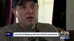 Dad recovering after gas station shooting [Video]