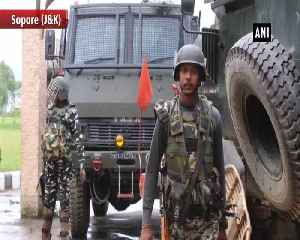 Encounter breaks out between terrorists and security forces in JKs Sopore [Video]