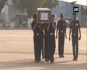 Poonch ceasefire violation Army chief Gen Rawat Rajnath Singh pay tribute to slain jawan [Video]
