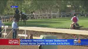 Governor Calls For Halt In Races After 2 More Horses Euthanized At Santa Anita Park [Video]