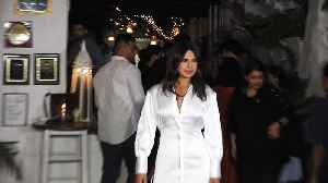 Priyanka Chopra attends wrap party for Bollywood comeback 'The Sky is Pink' [Video]