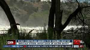 KCSO continues search for missing boater [Video]
