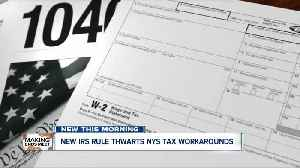 New IRS rule thwarts tax workarounds [Video]