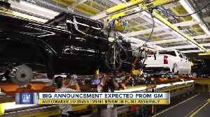 Big announcement expected from GM Wednesday morning [Video]